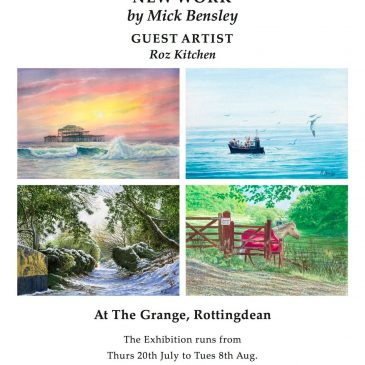Exhibition or oils, watercolours and pastels – 20th July – 8th August